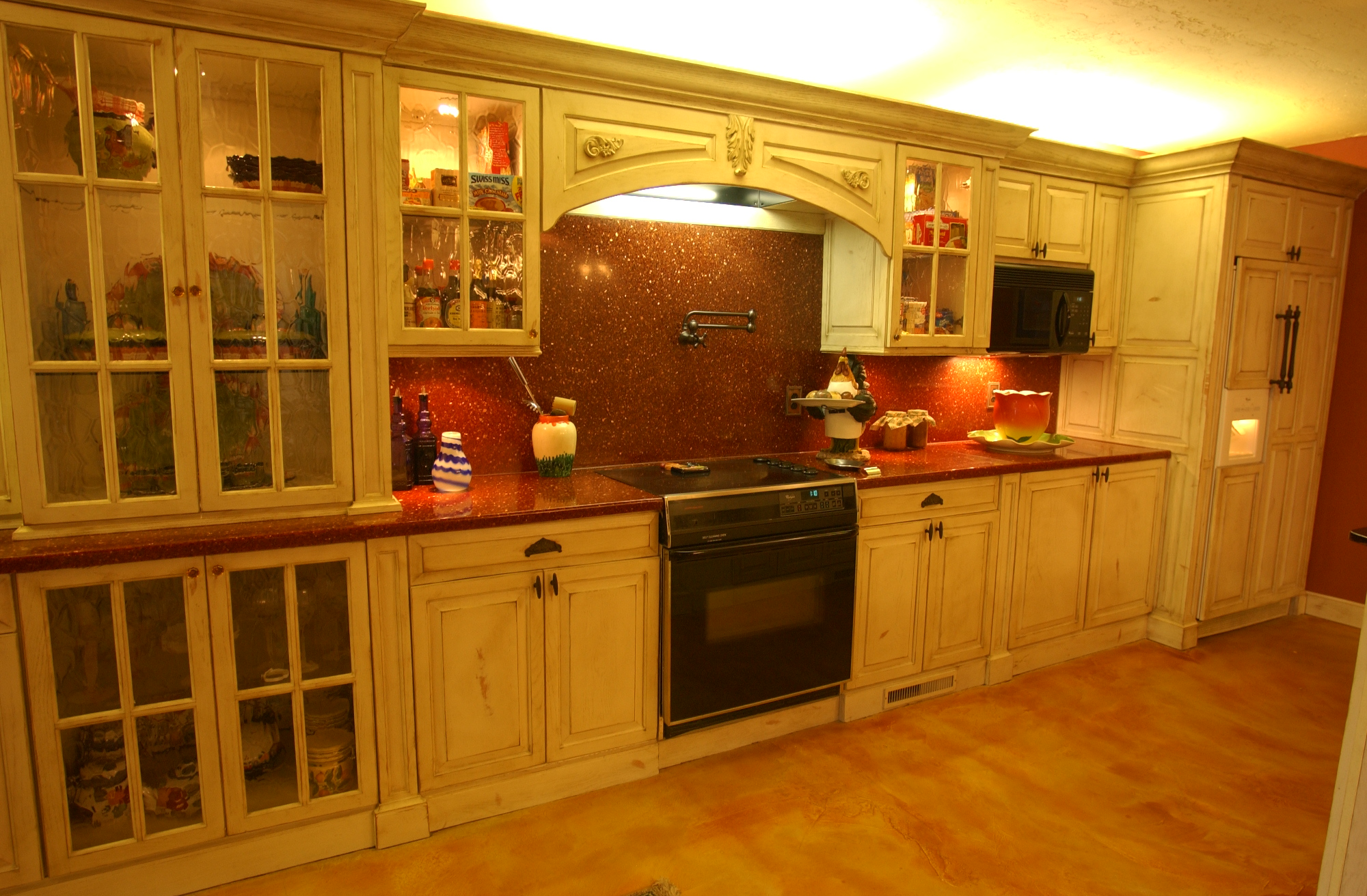 Oklahoma s best cabinetmaker building quality cabinets and for Small office kitchen