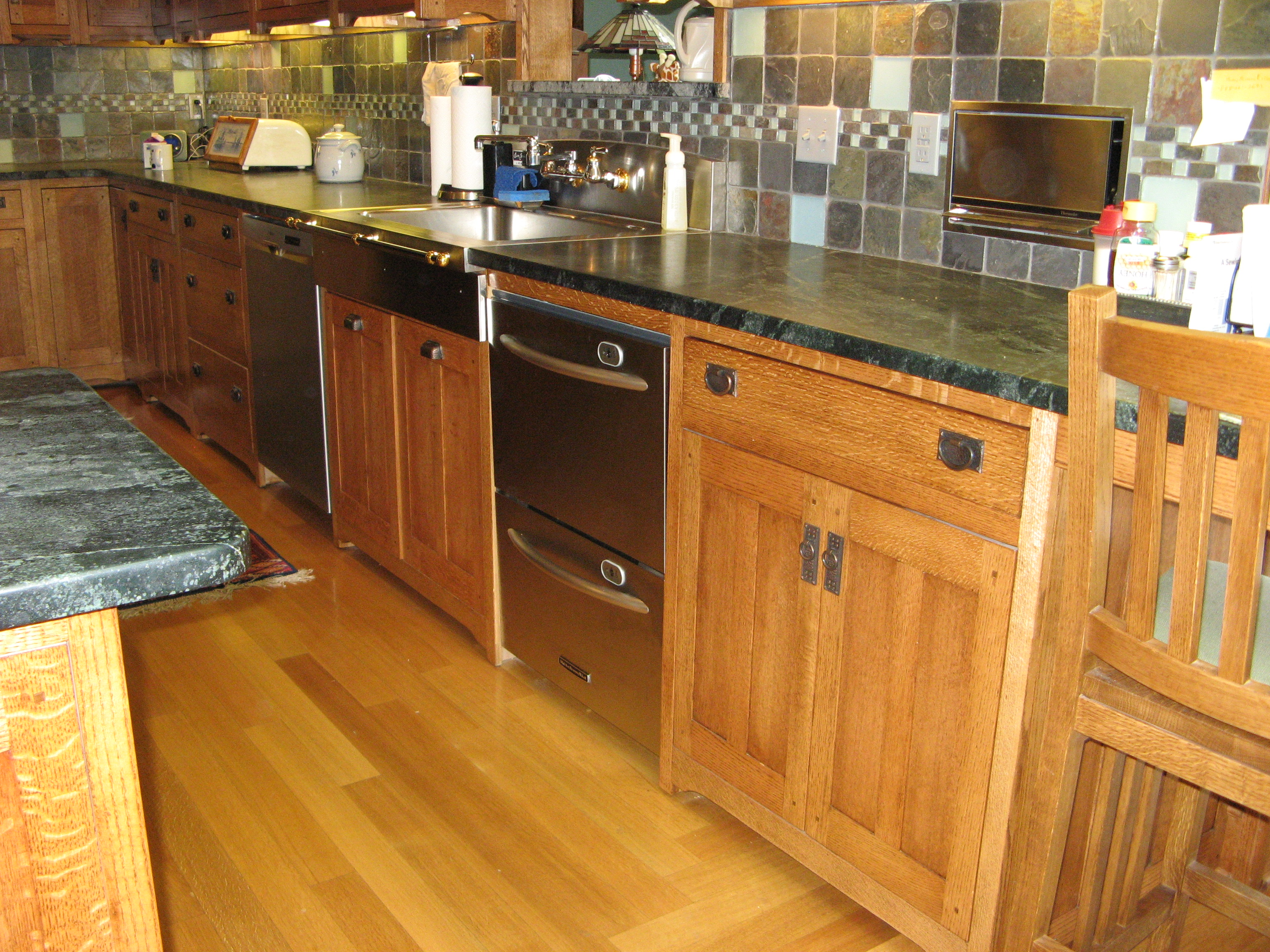 Oklahoma city kitchen cabinet   cabinet refacing   replace ...